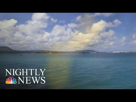 Tiny Island Of Guam In The Crosshairs Of U.S.-North Korea Crisis | NBC Nightly News