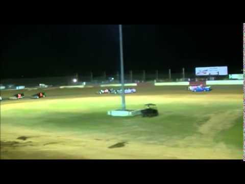 Albany Motor Speedway 5-30-15 Tyler Summerlin Wreck