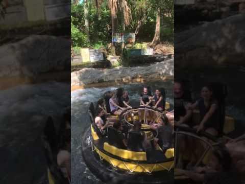 Mais galerinha do Bus 3 no Congo River em Busch Gardens!!