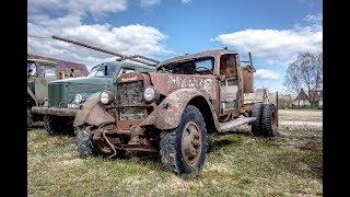 Забытые Автомобили В Эстонии - Часть 2: Приют Старой техники ( ABANDONED CARS )