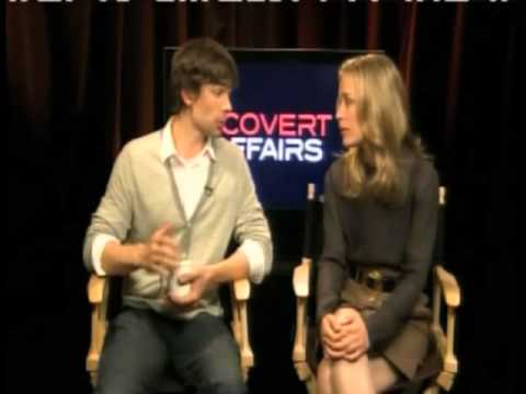 Piper Perabo and Chris Gorham Talk About Getting Their Parts on