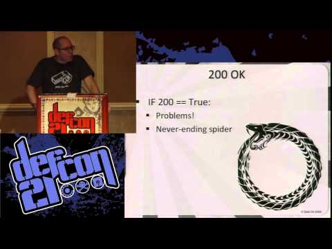 [DEFCON 21] Defense by numbers: Making problems for script kiddies and scanner monkeys