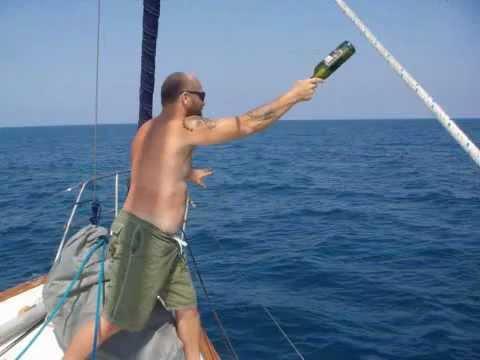 Sailing The Mediterranean Sea: Larry Toenjes, Rusty Glenn, Joe & Sherrie Wagner,