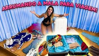 ARRUMANDO A MALA PARA VIAGEM PARA FORA DO BRASIL!!