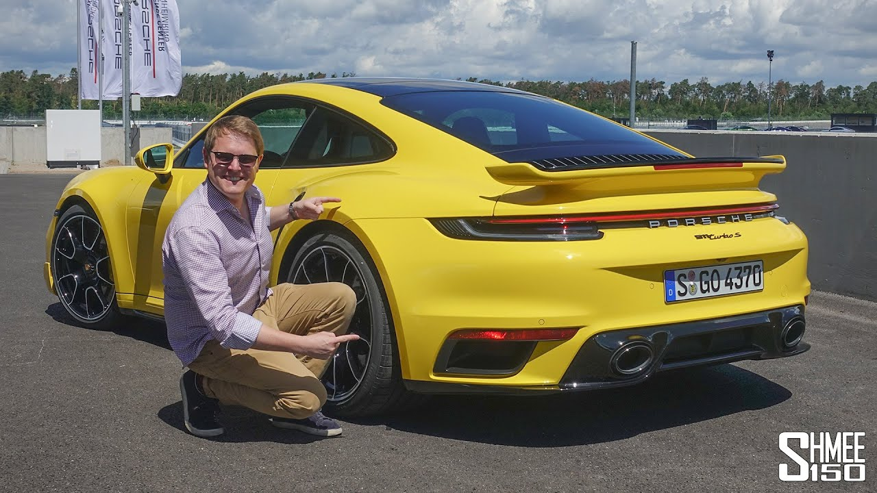 New Porsche Turbo S 300km H Flat Out Test Drive Youtube