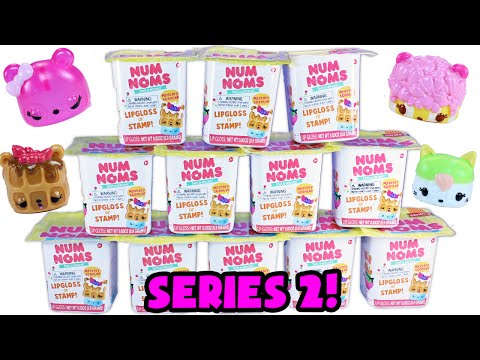 ★num Noms Series 2 Unboxing Blind Bags★ Special Edition