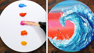 HOW TO PAINT FOR BEGINNERS || Mesmerizing Art Techniques That Will Make You Say Wow