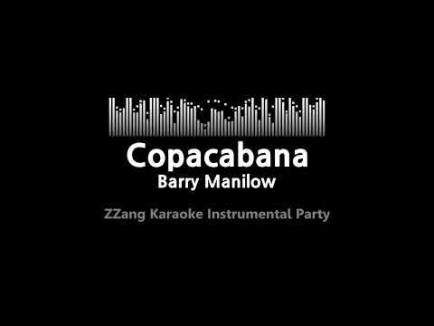 Barry Manilow-Copacabana (Instrumental) [ZZang KARAOKE]