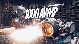 WORLD'S FIRST 1000HP AWD BILLET 4 ROTOR RX-7
