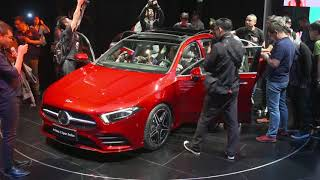 Mercedes A-Class L Sedan Unveiling At Auto China 2018