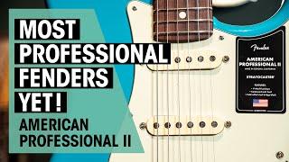 Fender American Pro II   The best production Fenders yet?   Thomann