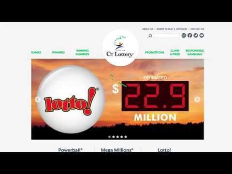 CT Lottery's New Website