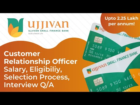 Private Bank Jobs For Freshers 2020 | Ujjivan Small Finance Bank Job (Sales Job For Freshers)