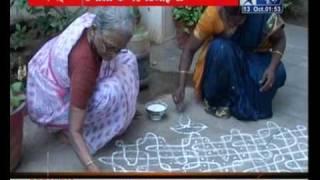 Kolam....Tamil Rangoli