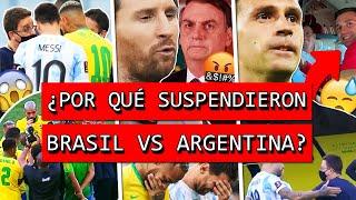 ¿Por qué se suspendió BRASIL vs ARGENTINA?+ ENOJO de MESSI con GOBIERNO+¿Qué pasó con DIBU MARTÍNEZ?