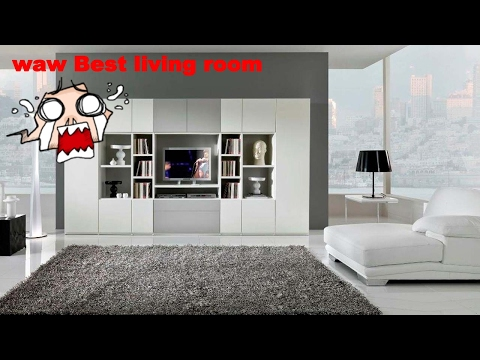 built in living room wall units