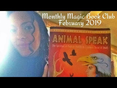 Introducing Animal Speak - the Monthly Magic Book Club February 2019 Selection