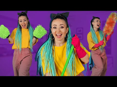 HAPPY CLEANING SONG – Tik Tok dances and cleaning hacks by La La Life (Music Video)
