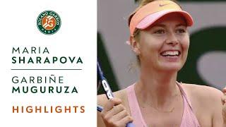 Maria Sharapova v Garbine Muguruza Highlights - Women