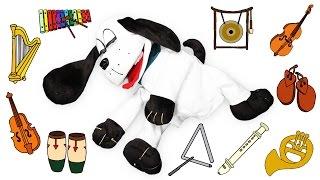 2 часа - Учиться и спать - музыкальных инструментов 2 - Учим + колыбельные - детская музыка