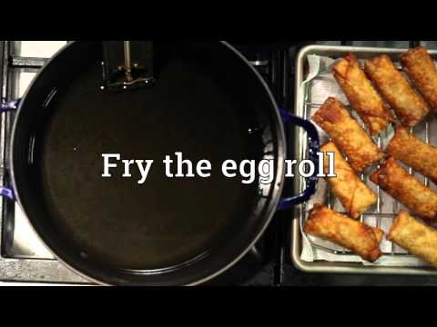How to make Chinese Egg Rolls