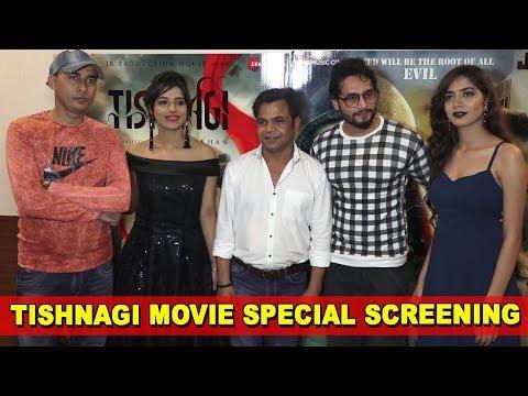 Tishnagi Movie | Special Screening | Rajpal Yadav, Aryan Vaid, Qais Tanveer, Anushka Srivastav