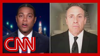 Cuomo and Lemon disagree over news coverage of Trump
