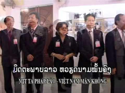Tinh huu nghi Viet - Lao