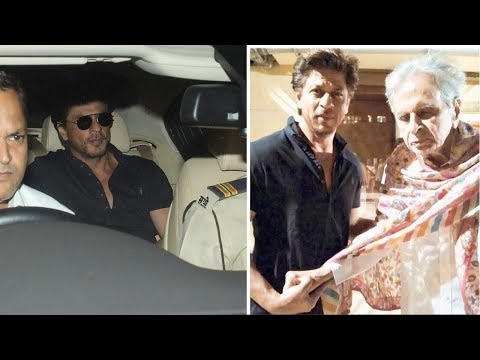 Shah Rukh Khan's CUTE Gesture For Old Dilip Kumar