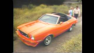 1978 Ford Mustang TV Ad Commercial  -- 2 of 2