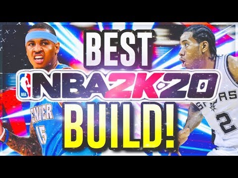 One Of The Best Small Forward Builds... (Carmelo Anthony/ Kawhi Leonard) NBA2K20