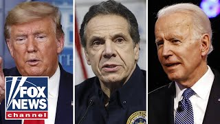 Trump: Cuomo would be a better Dem candidate than Biden