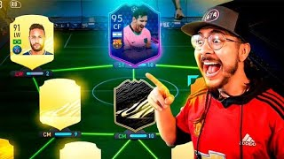 I packed TOTGS Messi & put him into a player pick pack! This happened...