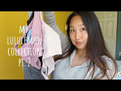lululemon tops collection | try on | energy bra, swiftly tech tank, scuba hoodie & more