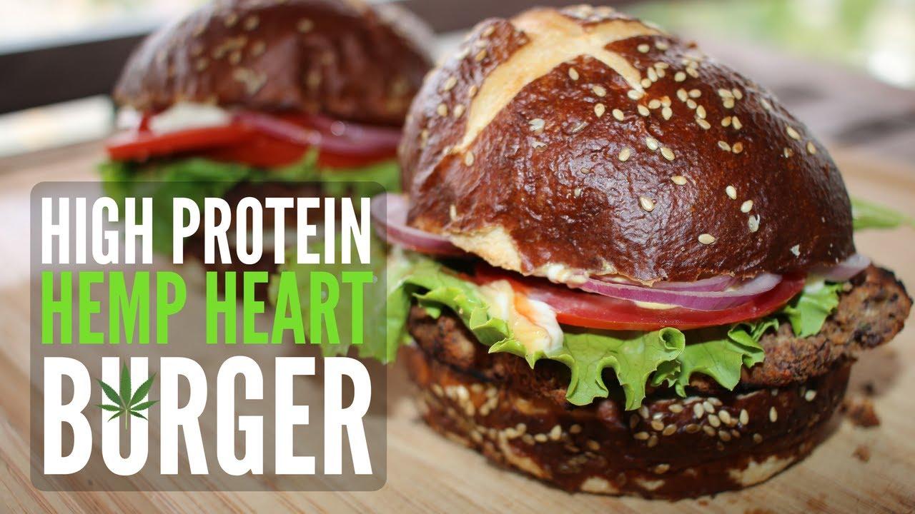 Hemp Seed Veggie Burger Recipe on the Grill 🍔