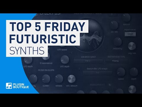 Top 5 Friday | Best Future Synth VSTi Plugins 2019