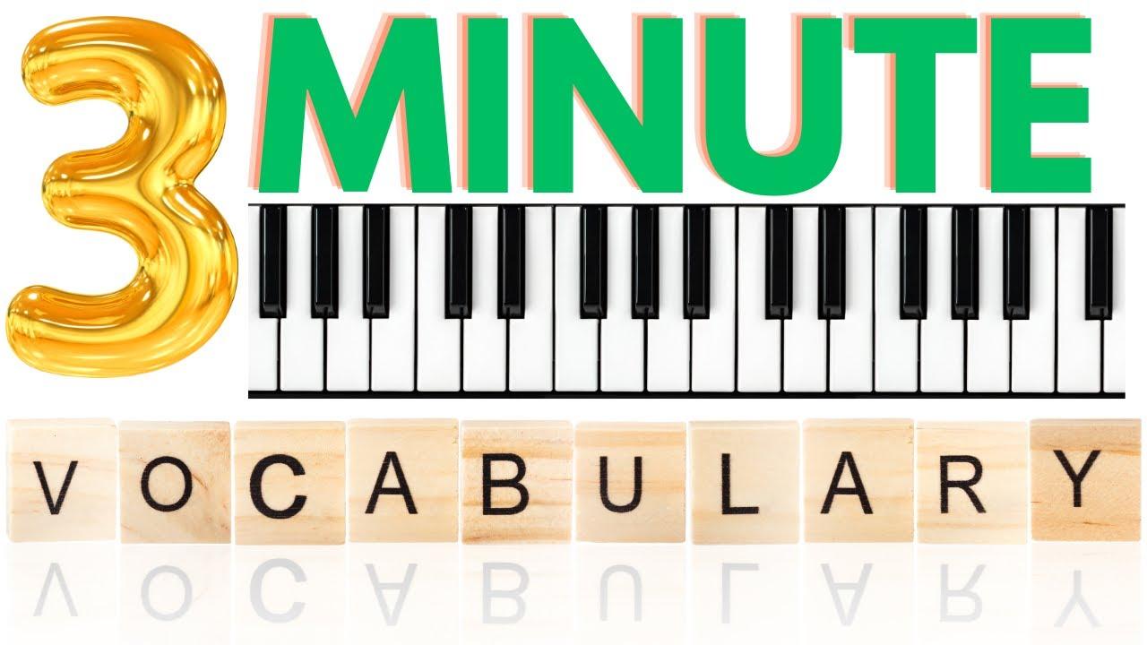 Accumulating Vocabulary Ideas - Peter Martin   2 Minute Jazz