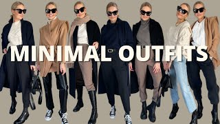MINIMAL, NEUTRAL OUTFITS FΟR WINTER | HOW I STYLE MY LOOKS