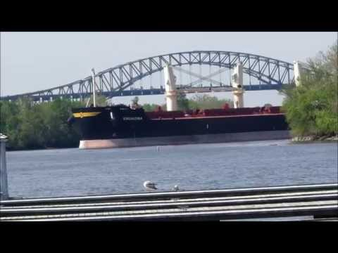 Delaware River Ships and Tugs