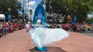 FULL Frozen Royal Reception parade at Disney's Hollywood Studios