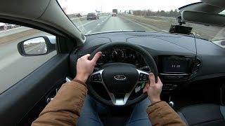 2018 Lada Xray Cross 1.8l Pov Test Drive