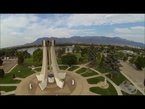 Aerial quadcopter fpv and free flights at memorial park - Memorial gardens colorado springs ...