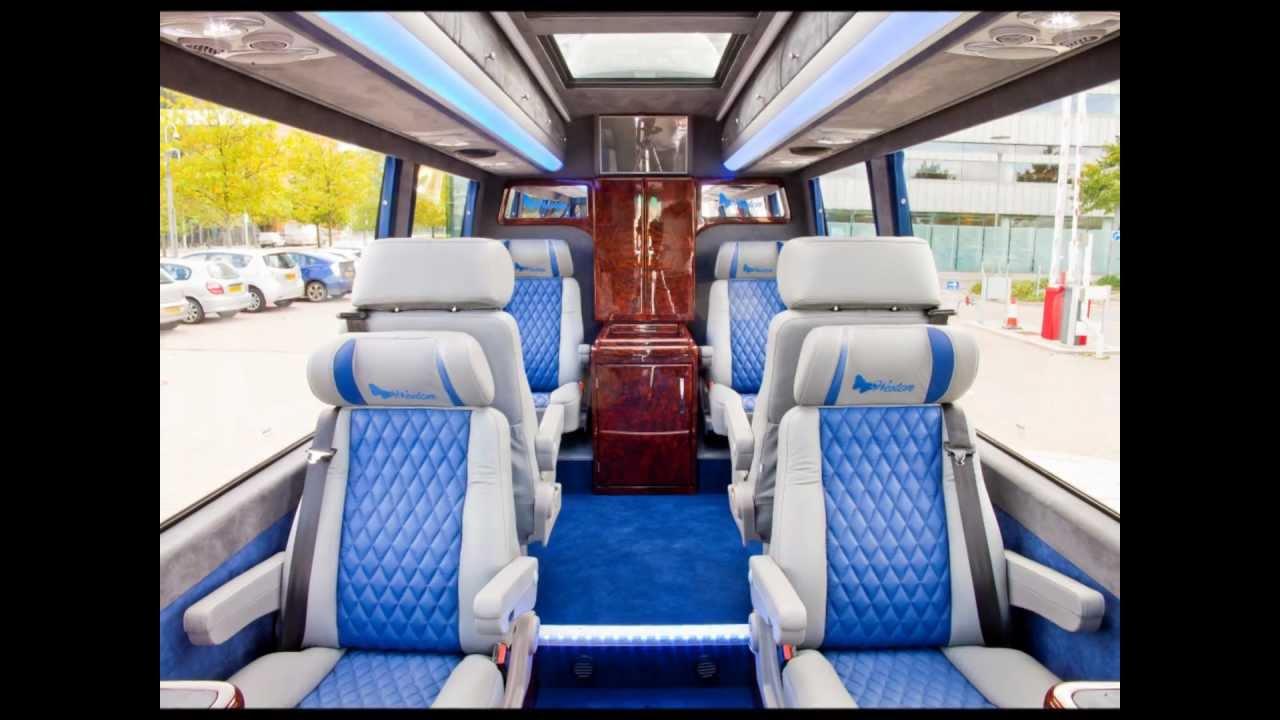 Mercedes Benz Sprinter Minibus Evm X Clusive Vip Youtube