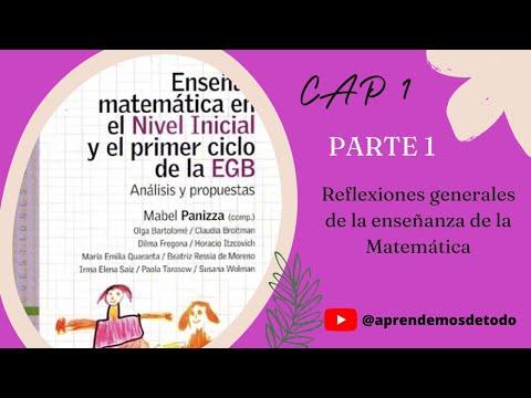 Download Parte 1 - Reflexiones generales sobre la enseñanza de la Matemática - Mabel Panizza