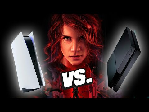 Control Ultimate PS5 vs PS4 - Loading Times And Gameplay Comparison