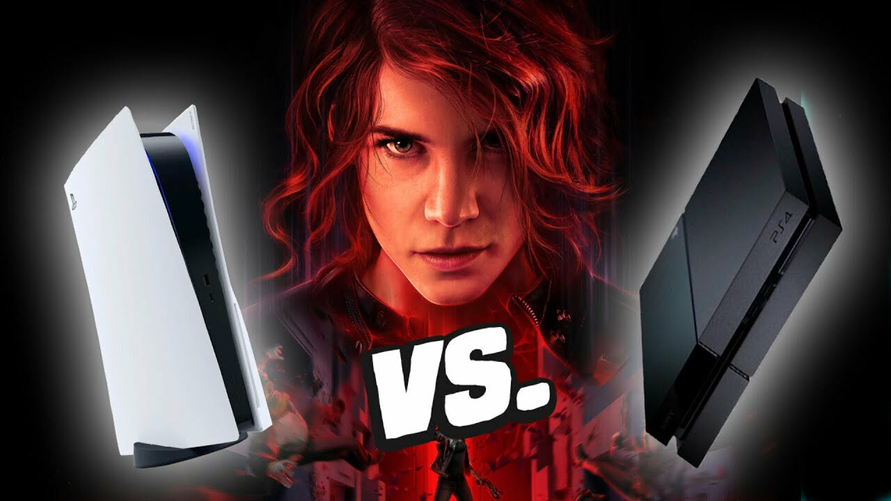 Control Ultimate PS5 vs PS4 - Loading ...