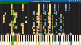 Radioactive - Imagine Dragons [Synthesia]