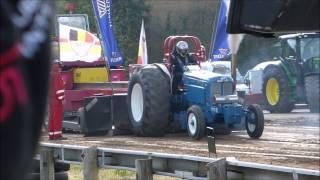Lancashire Bomber Tractor Pulling Kirkbride 2015