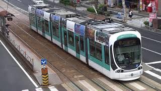 広島電鉄 5100形「広島観光インフォメーション電車」 本川町電停附近にて 20170912