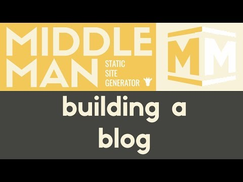 Building A Blog | Middleman - Static Site Generator | Tutorial 13